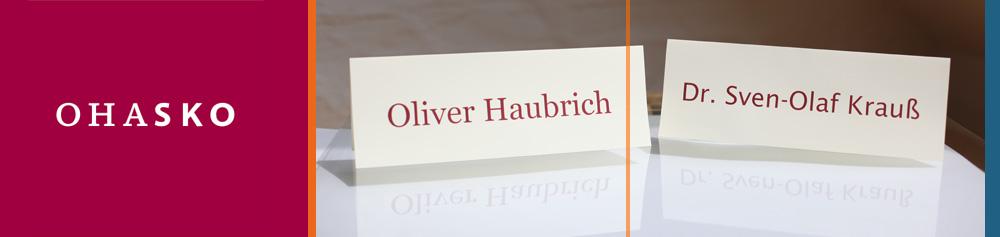 OHASKO Beteiligungs-GmbH Die Investoren