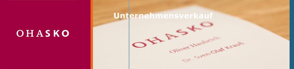 OHASKO Beteiligungs-GmbH - Unternehmensverkauf