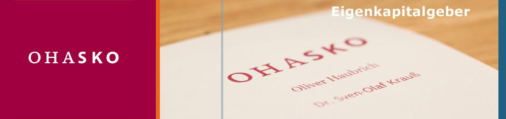 OHASKO Beteiligungs-GmbH - Eigenkapitalgeber