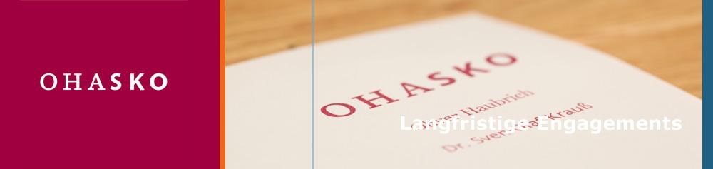 OHASKO Beteiligungs-GmbH - Langfristige Engagements